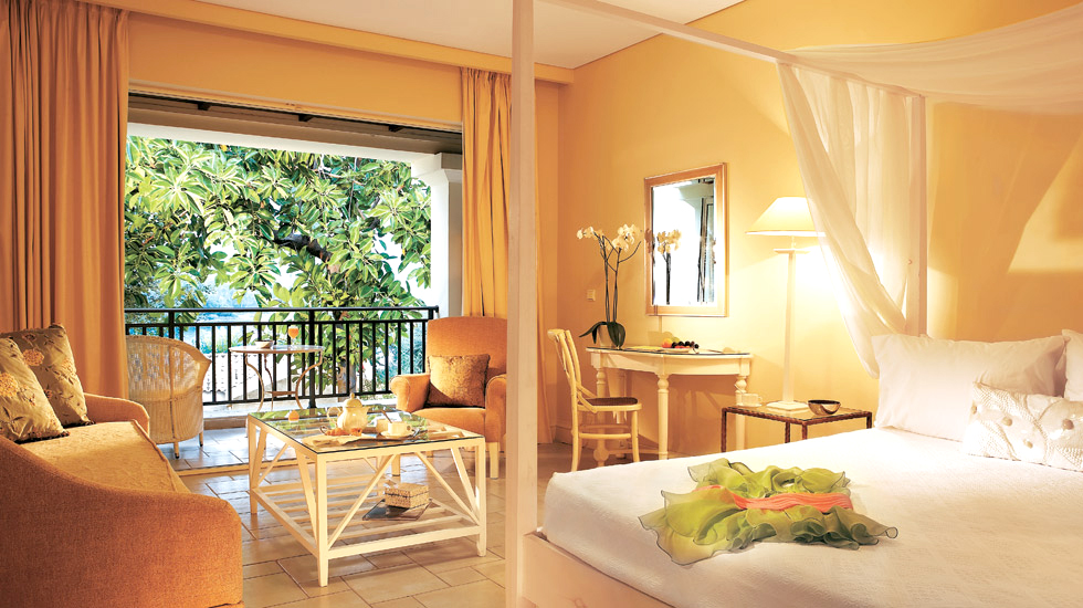 Junior Bungalow Suites Eva Palace Luxury Hotel In Corfu