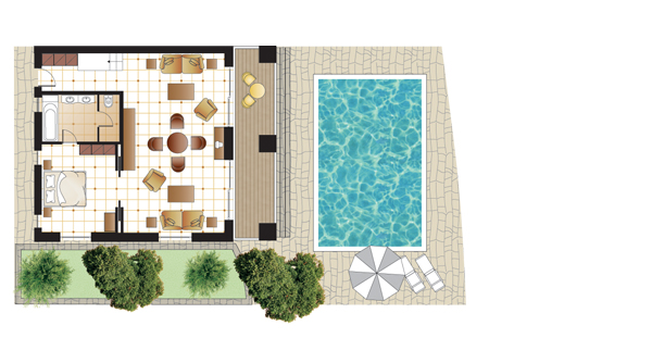 Dream Villa, floorplan