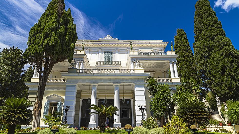 Museums in Corfu Island  Grecotel Eva Palace Luxury Hotel