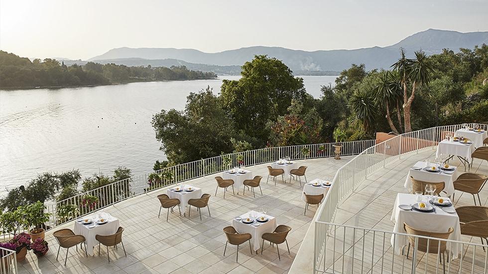 Fine Dining in Eva Palace Luxury Resort
