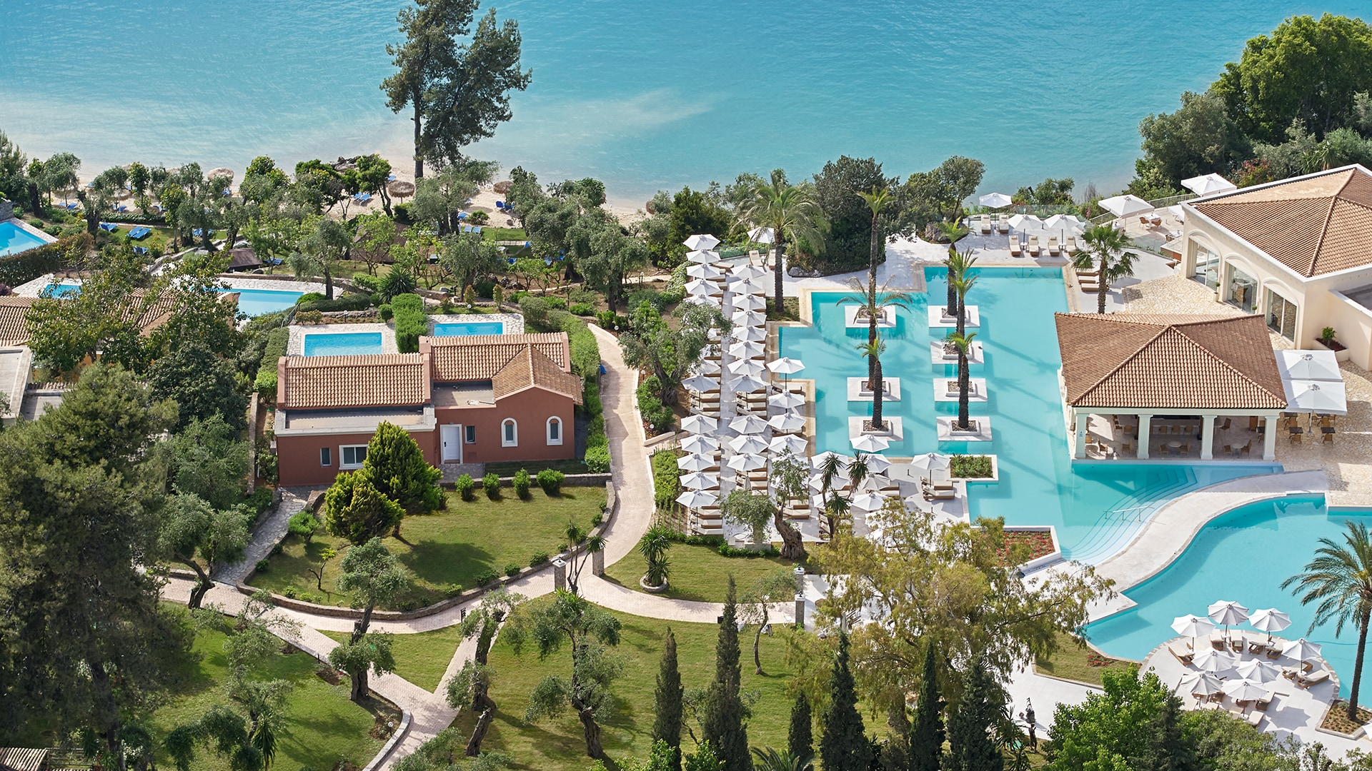Luxury Resort Eva Palace in Corfu