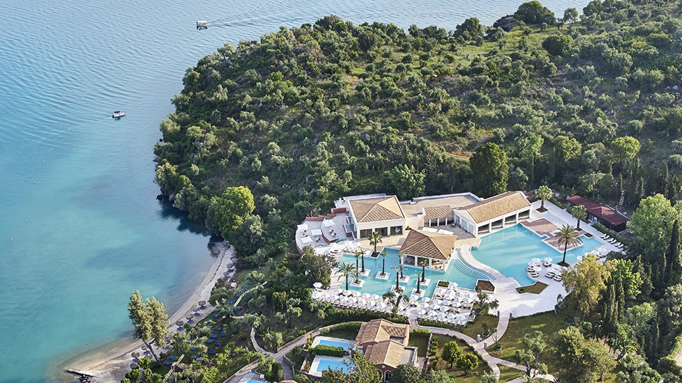 Luxury Resort in Corfu Eva Palace