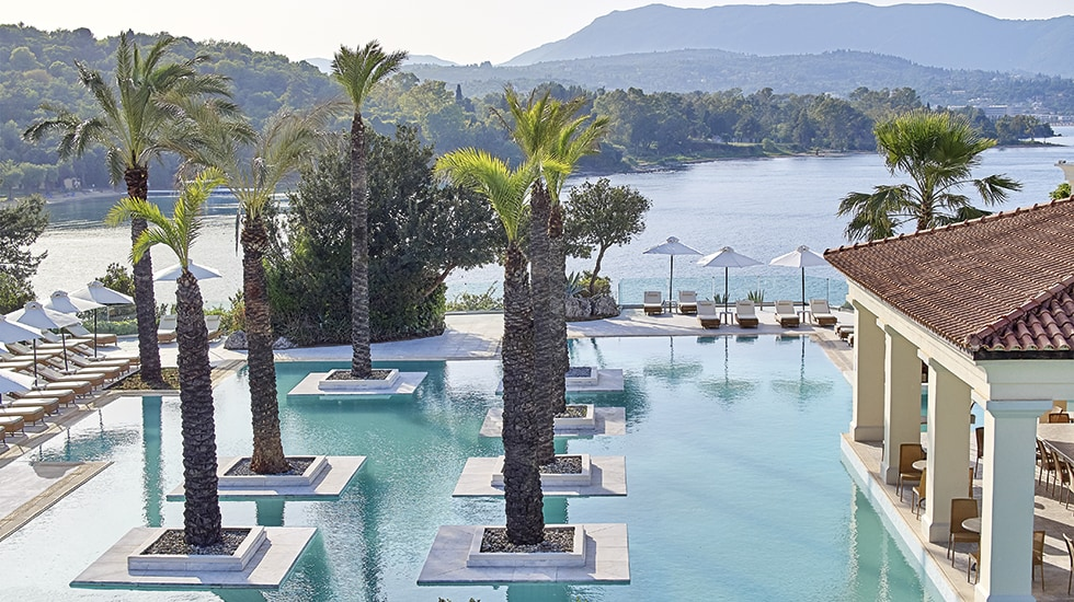 Luxury Beach Hotel in Corfu