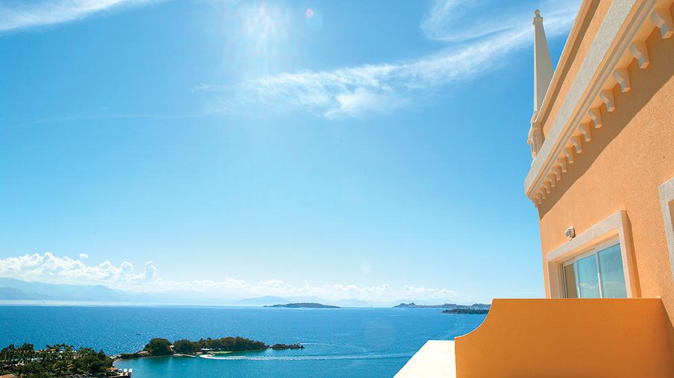 Luxury Beach Resort in Corfu