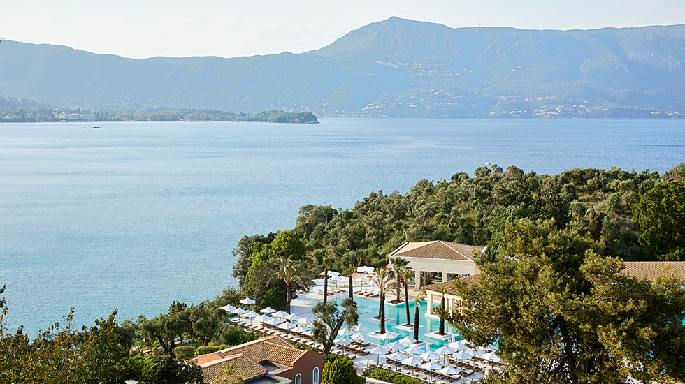 Luxury Vacation in Corfu Eva Palace