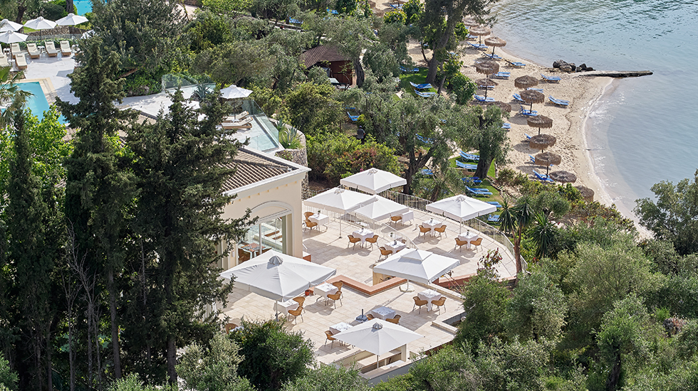 Luxury Beach Resort in Corfu Fine Dining