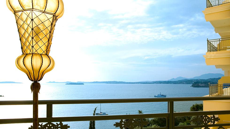 Luxury 5 star hotel in Corfu Eva Palace