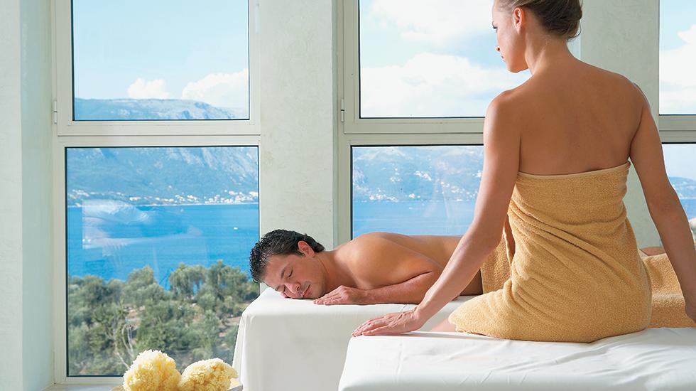 Spa Hotel in Corfu Island Eva Palace