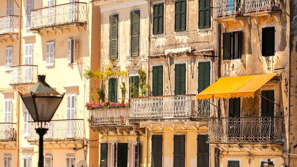Corfu Town in Corfu