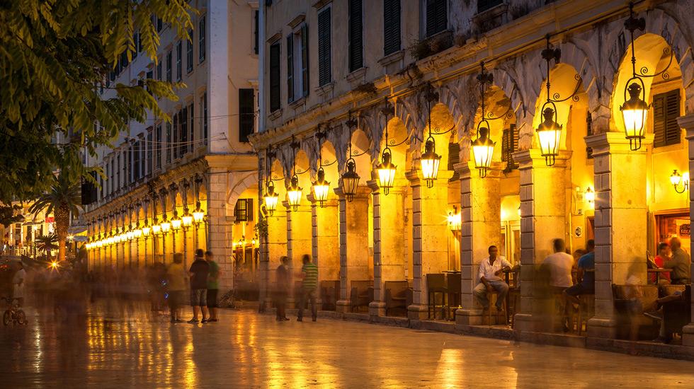 Corfu Town The Liston