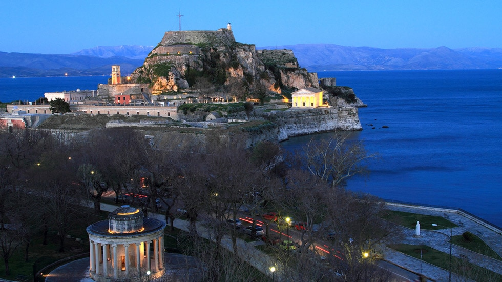 Images of Corfu sightseeing