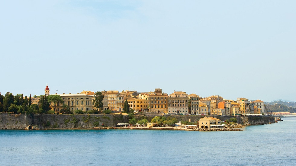 Traditional Images of Corfu Town