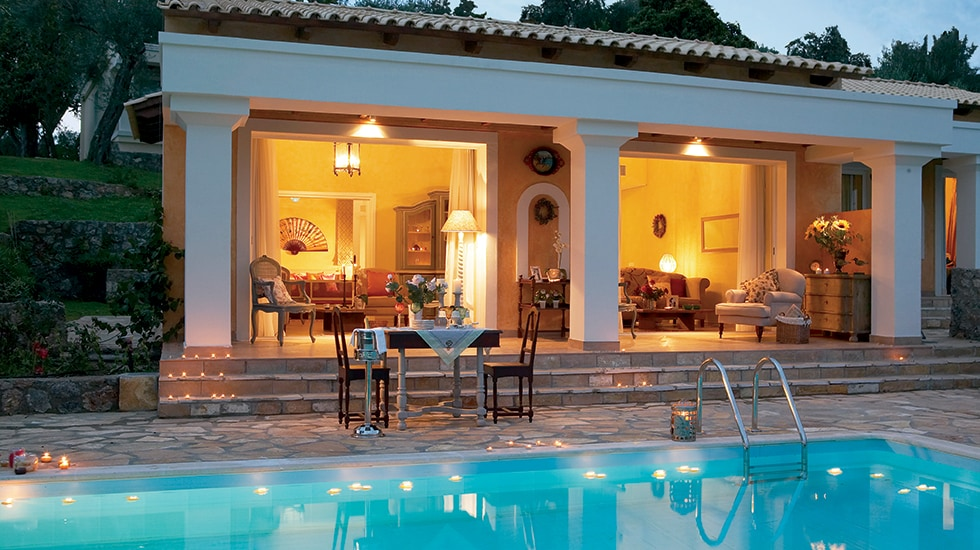 Luxury Hotel Villa Accommodation in Corfu