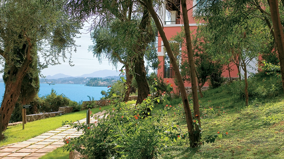 Hotel Villas with garden in Corfu