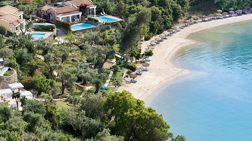 luxury corfu beaches eva palace luxury accommodation